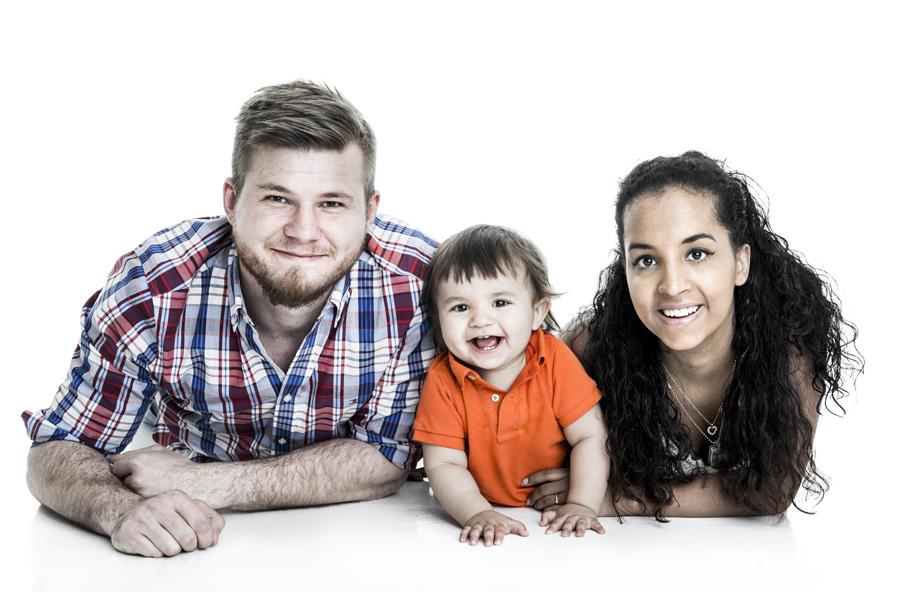 Familj Täbyfotograf