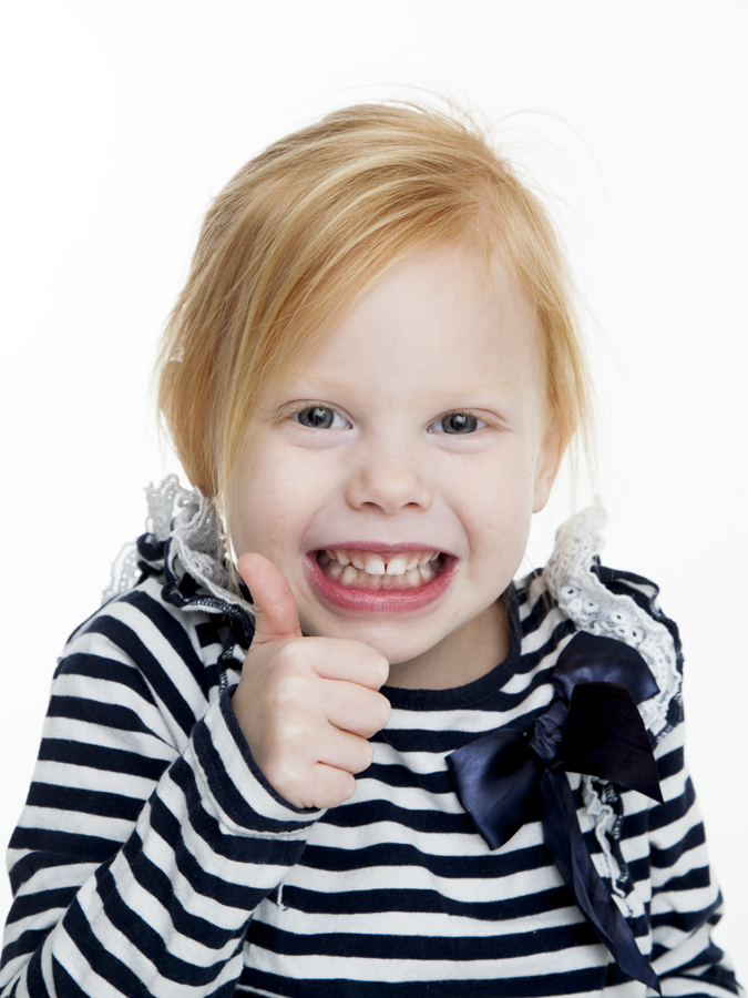 Rolig barnfotograf