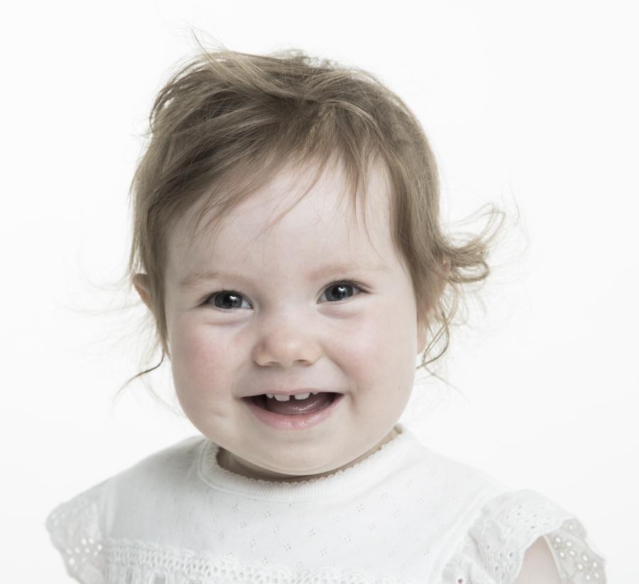 Söta barnporträtt
