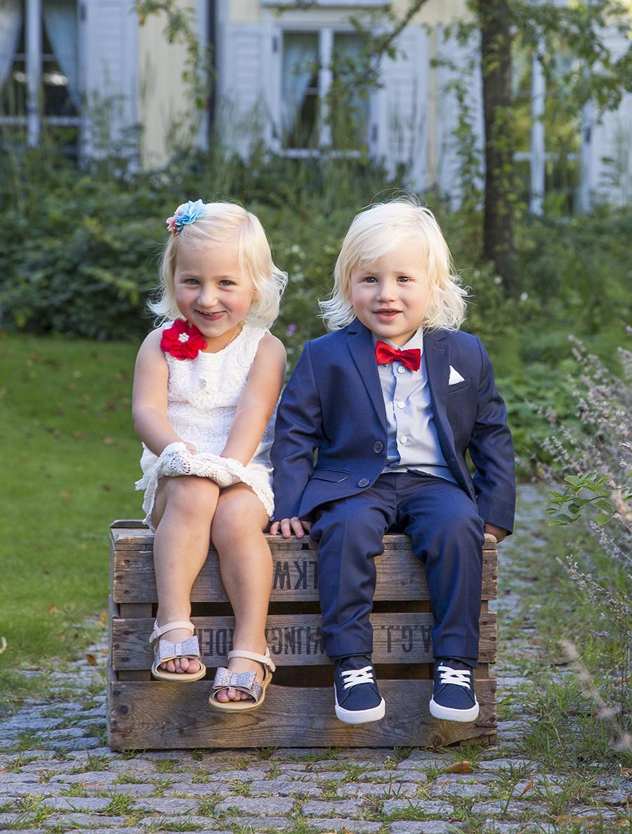 barn och bröllop