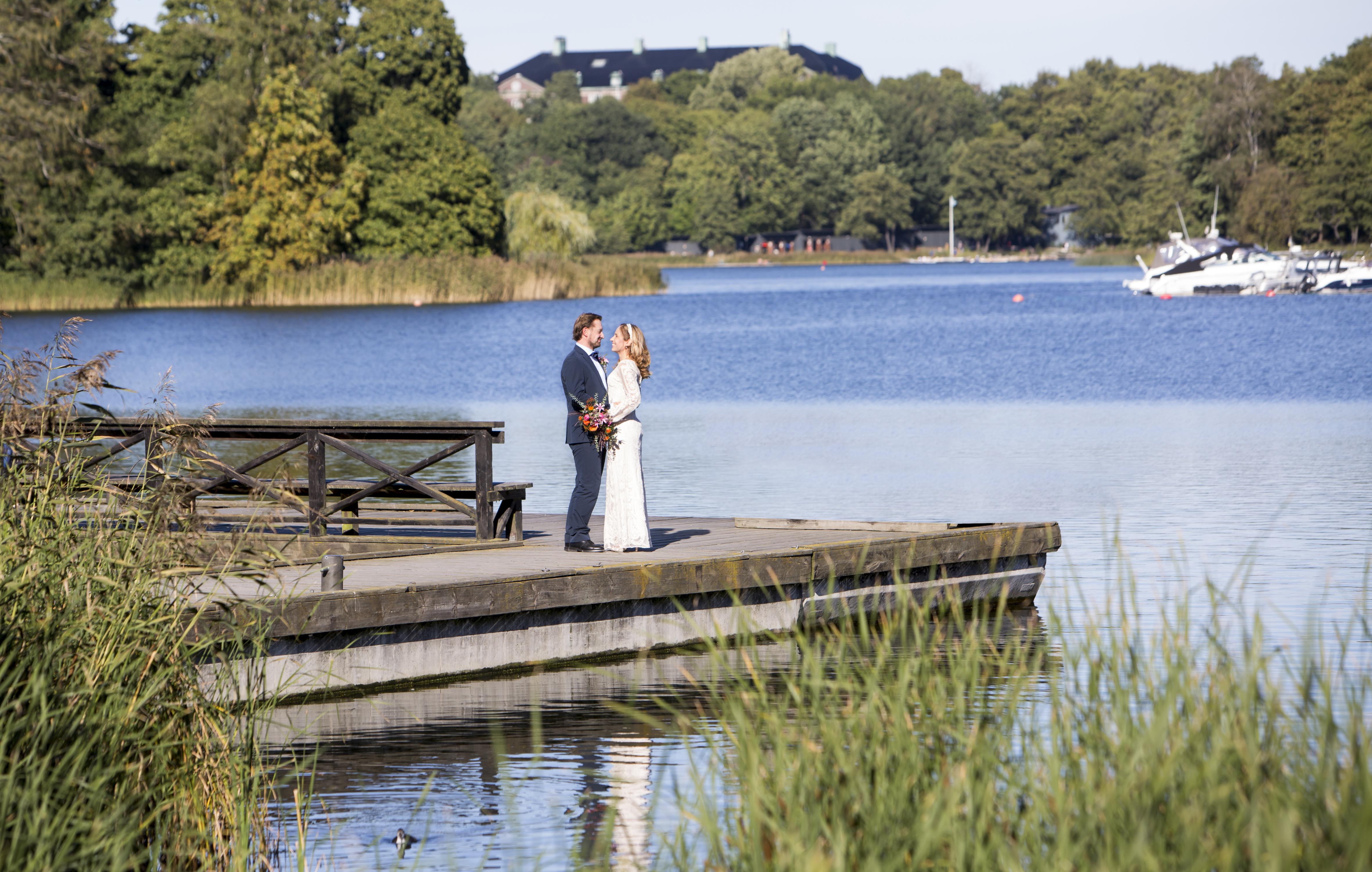 bröllopfotograf hagaparken