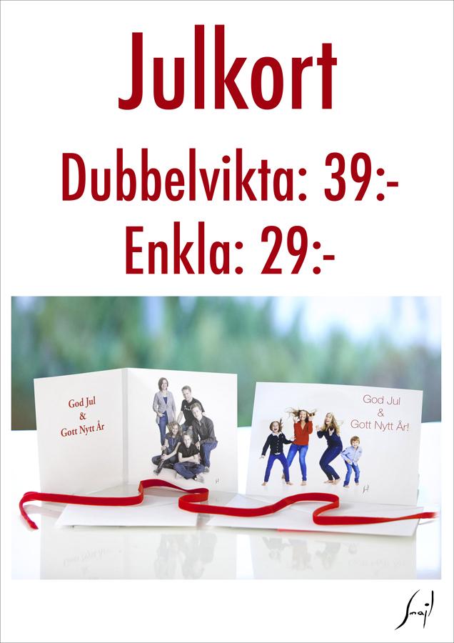 Julfotografering Stockholm