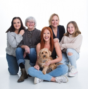 Familjefoto Täby